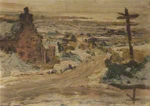 Landscape with Cottages