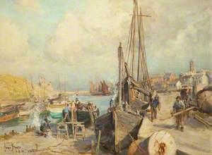 Boat Yard, Peel Harbour