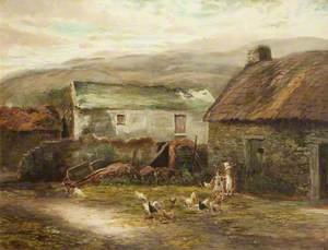 Old Buildings at Ballamenaugh, Sulby