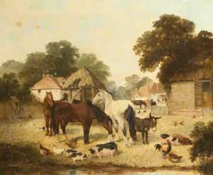 Farmyard Scene