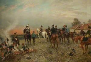 Near La Belle Alliance at Dawn, 18 June 1815
