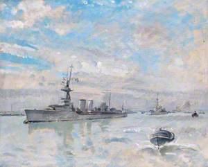 HMS 'Danaë'