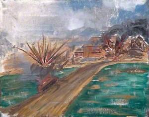 Tank Attack on an Italian Village