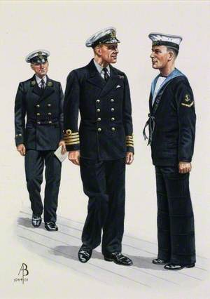 Royal Navy, 1939: Captain, Master at Arms, Leading Seaman
