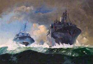 The Navy's Little Ships on the High Seas