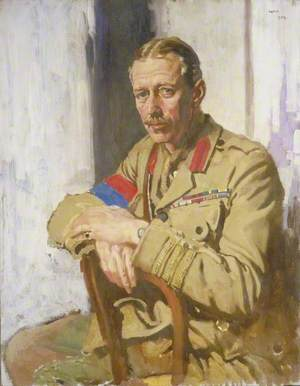 Lieutenant Colonel A. N. Lee, DSO, OBE, TD, Censor in France of Paintings and Drawings by Artists at the Front