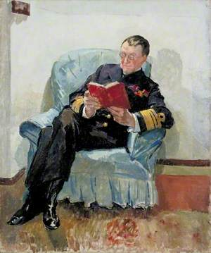 Vice Admiral the Honourable Sir Somerset A. Gough-Calthorpe (1864–1937), GCMG, KCB, CVO, on Board HMS 'Superb' at Constantinople
