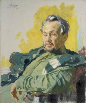 Monsieur R. D. De Maratray, French War Correspondent for 'Le Petit Journal'