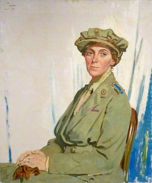 The First Chief Controller, Queen Mary's Army Auxiliary Corps in France, Dame Helen Gwynne-Vaughan (1879–1967), CBE, DSC