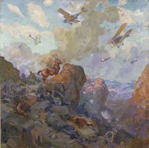Bombing of the Wadi Fara, 20 September 1918