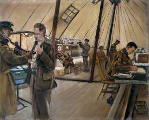 The Royal Army Medical Corps in Training, Blackpool: The Medical Inspection Room and Dispensary