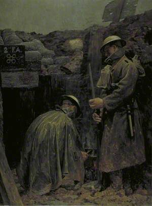 'Humanity' Bearer Post, Cambrin Sector, August 1916: The First Field Ambulance