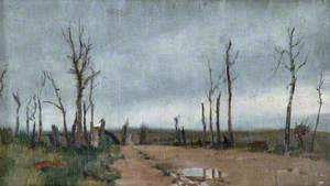 Near 'Hell Fire Corner', Menin Road, Ypres