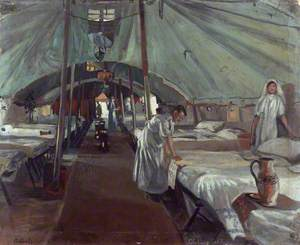 The Officers' Ward at the 41st Casualty Clearing Station