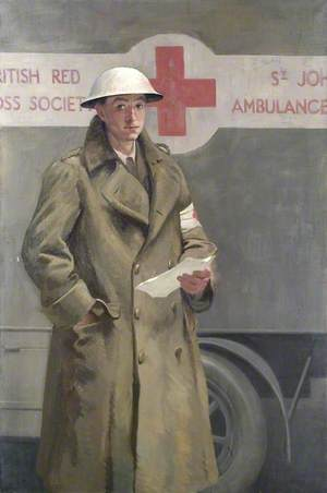 A British Red Cross Society and Order of St John of Jerusalem Officer in France