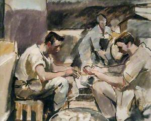Cookhouse: HMS 'Maidstone'