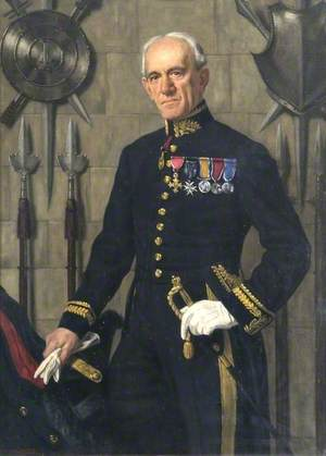Charles Ffoulkes (1868–1947), CB, CBE, First Curator and Secretary of the Imperial War Museum, in the Uniform of Master of the Tower Armouries