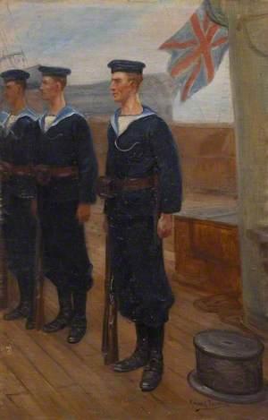 Three British Sailors