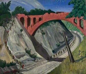 The Bridge over the Arras-Lens Railway