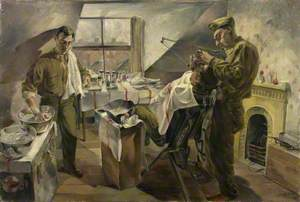16th US Medical Regiment: Field Dental Service Operating during an Attack