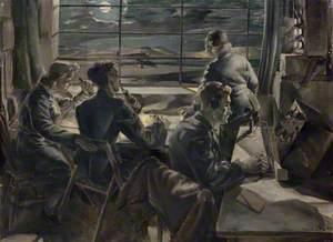 Night Scene in a Watch Office