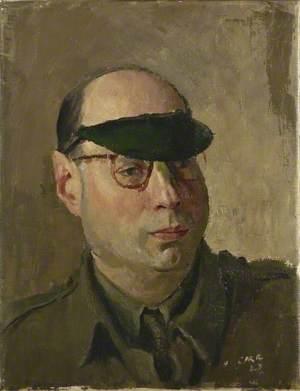 Arthur E. Mann, War Correspondent, Mutual Broadcasting Company of America