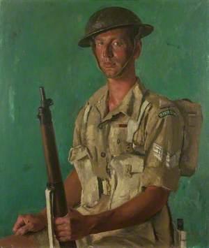 Sergeant J. P. Kenneally, VC, First Battalion, Irish Guards