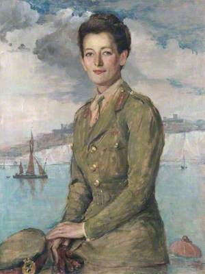 Mrs Jean Knox, CBE, Chief Controller and Director, Auxiliary Territorial Service