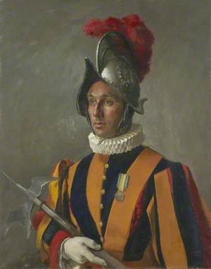 A Member of the Pope's Swiss Guard