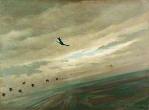 A Tempest Shooting Down a Flying Bomb