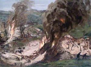 Flashback: A Recollection of an Air Raid on an Ammunition Dump
