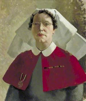 Miss S. A. W. Wade, RRC, Principal Matron, 101 British General Hospital
