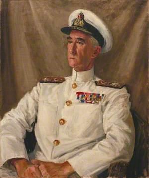 Rear Admiral C. E. Douglas-Pennant, CB, CBE, DSO, DSC