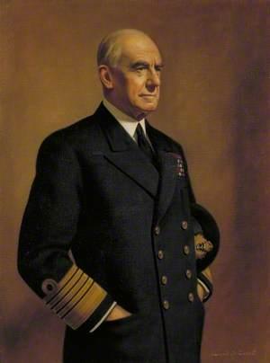 Admiral of the Fleet Sir Dudley Pound (1877–1943), GCB, OM, GCVO