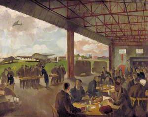Feeding Liberated Prisoners of War before They Are Flown Home, Brussels Airport