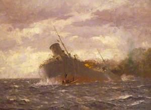 The Crew Reboarding the Tanker 'San Demetrio', 7 November 1940