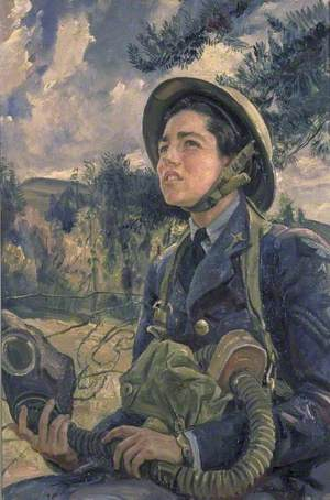 Corporal J. D. M. Pearson, GC, Women's Auxiliary Air Force