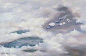The Tide Begins to Turn: One of the Long Range Liberators of 120 Squadron, Royal Air Force, Based in Iceland, Providing Air Cover in the Mid-Atlantic