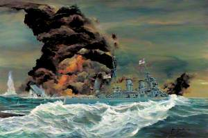 The 'Bismarck' Action: The Destruction of HMS 'Hood'