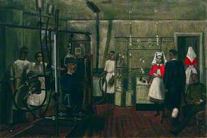 The X-Ray Department at the Queen Alexandra Military Hospital