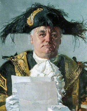 Councillor Tom Steele, First Lord Mayor of Canterbury