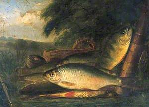 A Catch of Perch and Bream