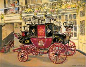 Dover to London Coach c. 1860