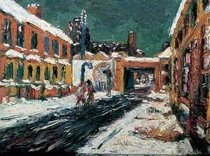 Wintry Street Scene