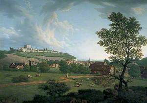 A View of the Town and Castle of Dover, Kent