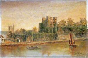 Rochester Castle and Esplanade, Kent