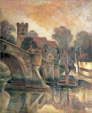 Aylesford Bridge and Church, Kent