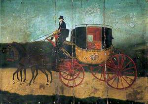 The Maidstone, Rochester and Chatham Post Coach