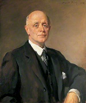 Sir Edward Hardy, Chairman of Kent County Council