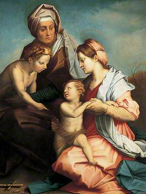 Virgin and Child with Saints John and Elizabeth